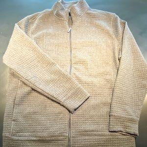 Perry Ellis men's men's grey full zip jacket XXLT